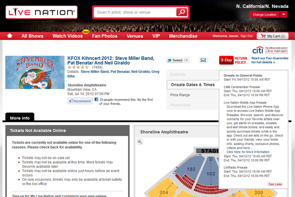 Ticketmaster and livenation ticket buying tips suggestions also noteworthy is when there are vip m4hsunfo
