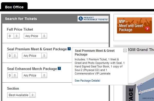 Ticketmaster and livenation ticket buying tips suggestions usually the vip m4hsunfo