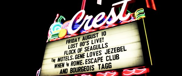 Lost 80's Live: A Flock of Seagulls, When In Rome UK, The