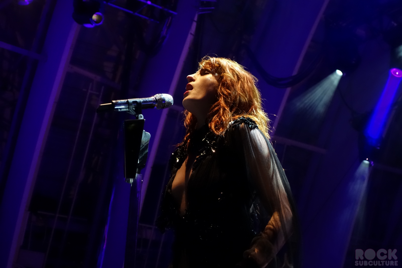 florence and the machine at the bowl