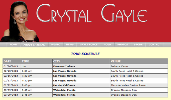 Crystal-Gayle-North-American-Australia-Tour-2013-US-Dates-Details-Tickets-Sale-Concert-Portal
