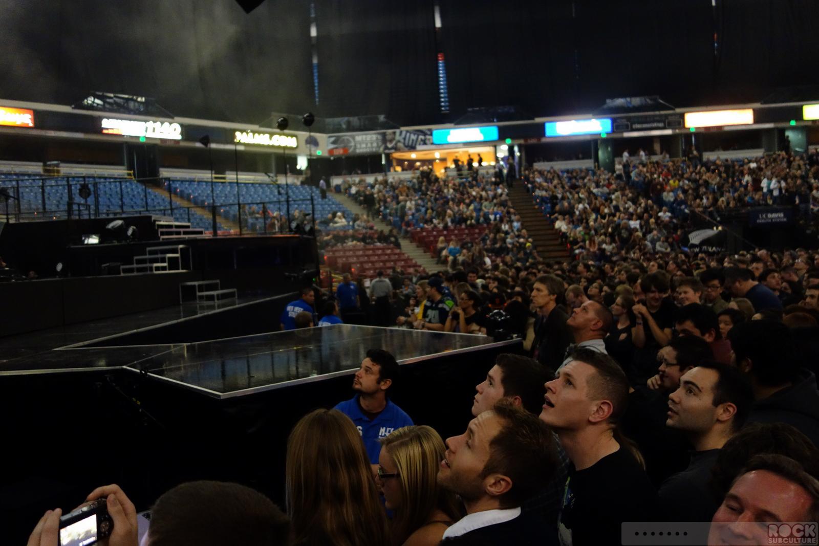 Muse At Sleep Train Arena Sacramento California 1292013