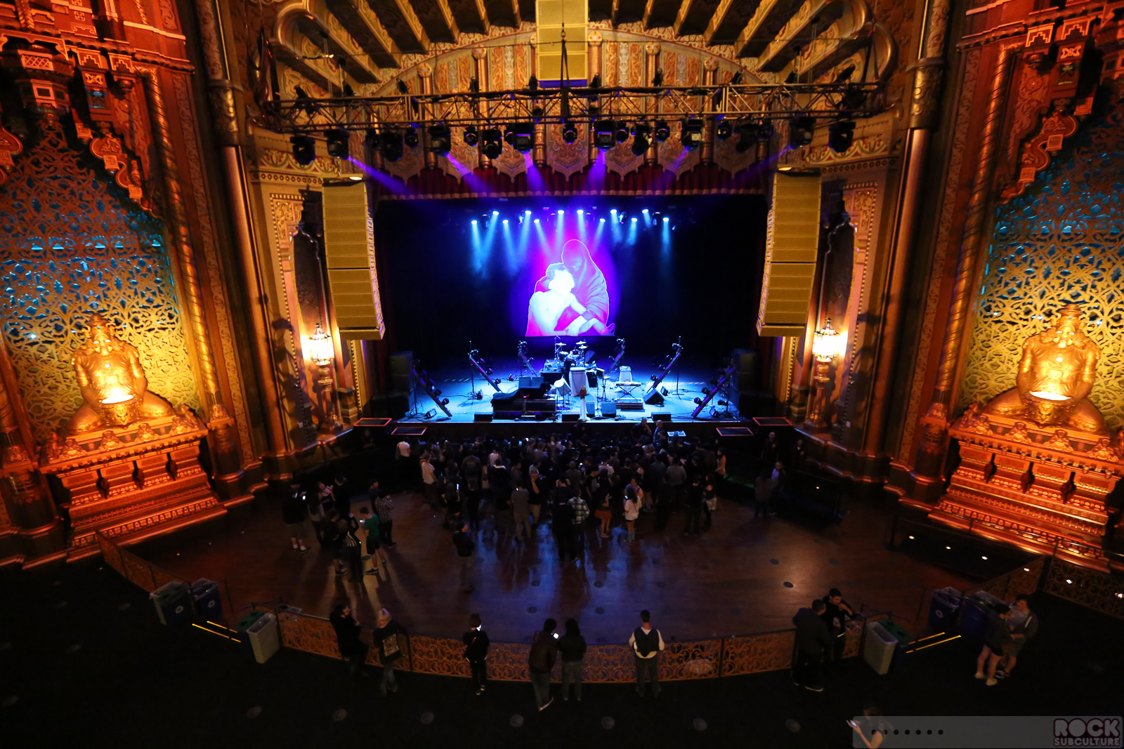 House Of Blues Floor Plan Crystal Castles At Fox Theater Oakland California 4