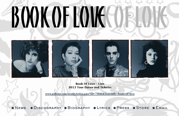 Book-of-Love-California-Tour-2013-DNA-Longue-New-Wave-Bar-That-80s-Club-Dates-Details-Tickets-Pre-Sale-Concert-Portal