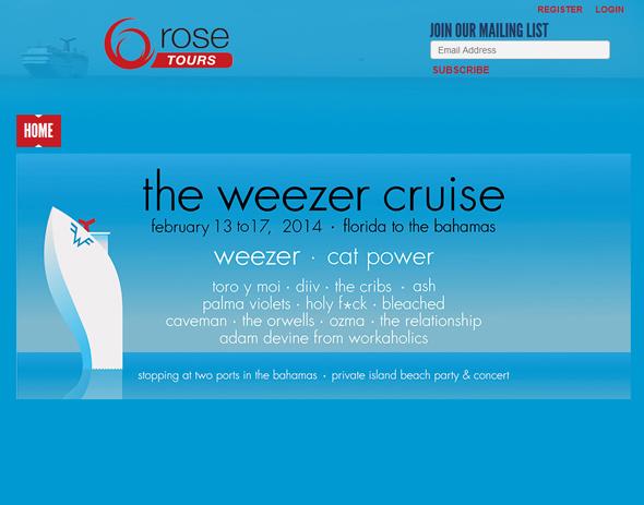 Weezer-Cruise-Bahamas-Tour-2013-US-Dates-Details-Tickets-Pre-Sale-Concert-Portal