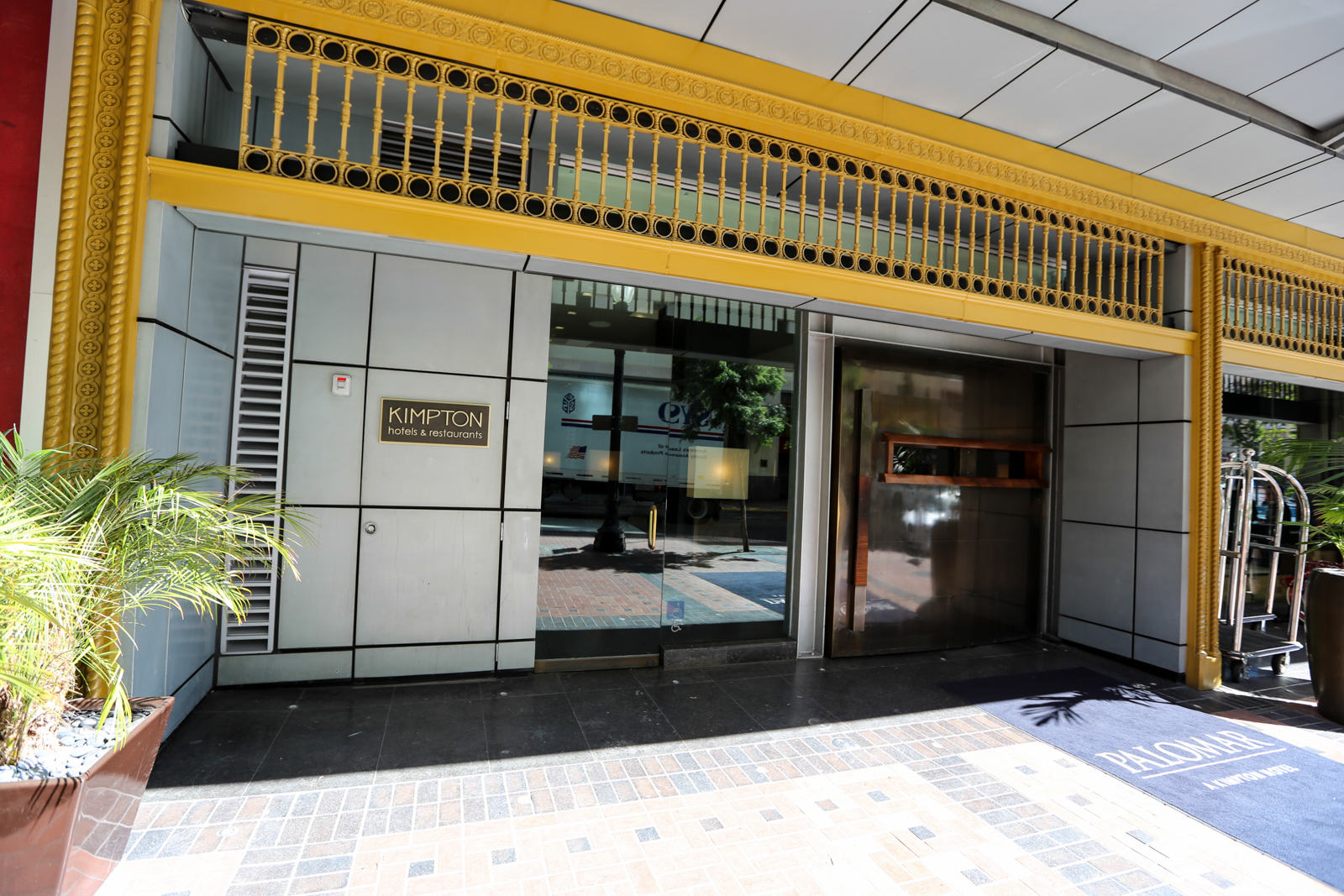 Hotel resort review palomar san diego a kimpton hotel for Kimpton hotels