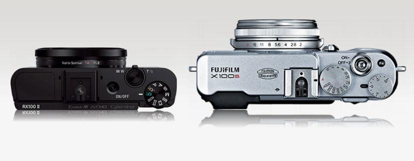 Fujifilm X100F vs Sony RX100 V Comparison Review