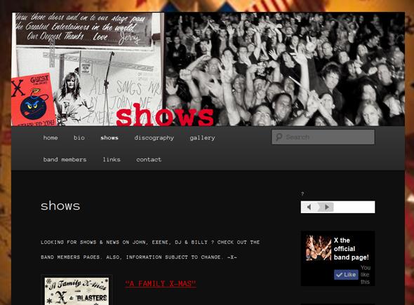 X-The-Band-Tour-2014-US-Dates-Details-Tickets-Pre-Sale-Concert-Los-Angeles-San-Diego-Casbah-Whiskey-A-Go-Go-Portal