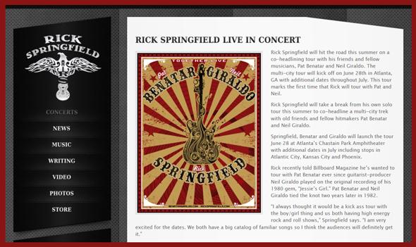 Rick-Springfield-Pat-Benatar-Neil-Giraldo-Solo-Co-Headline-Tour-Concert-Schedule-2014-Dates-Details-Tickets-Sale-Pre-Sale-News-Announcements-Portal