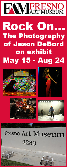 Fresno Art Museum Exhibit Rock On The Photography of Jason DeBord Rock Subculture Concert Photos