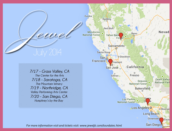 Jewel-JK-Tour-2014-Concert-California-Sing-On-Dates-Cities-Tickets-Venues-Video-Sale-Info-Live-Show-Map