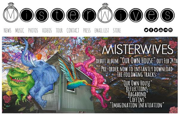 MisterWives-US-Tour-2015-Concert-Live-Dates-Cities-Information-Tickets-Website-Our-Own-House-Album-Portal
