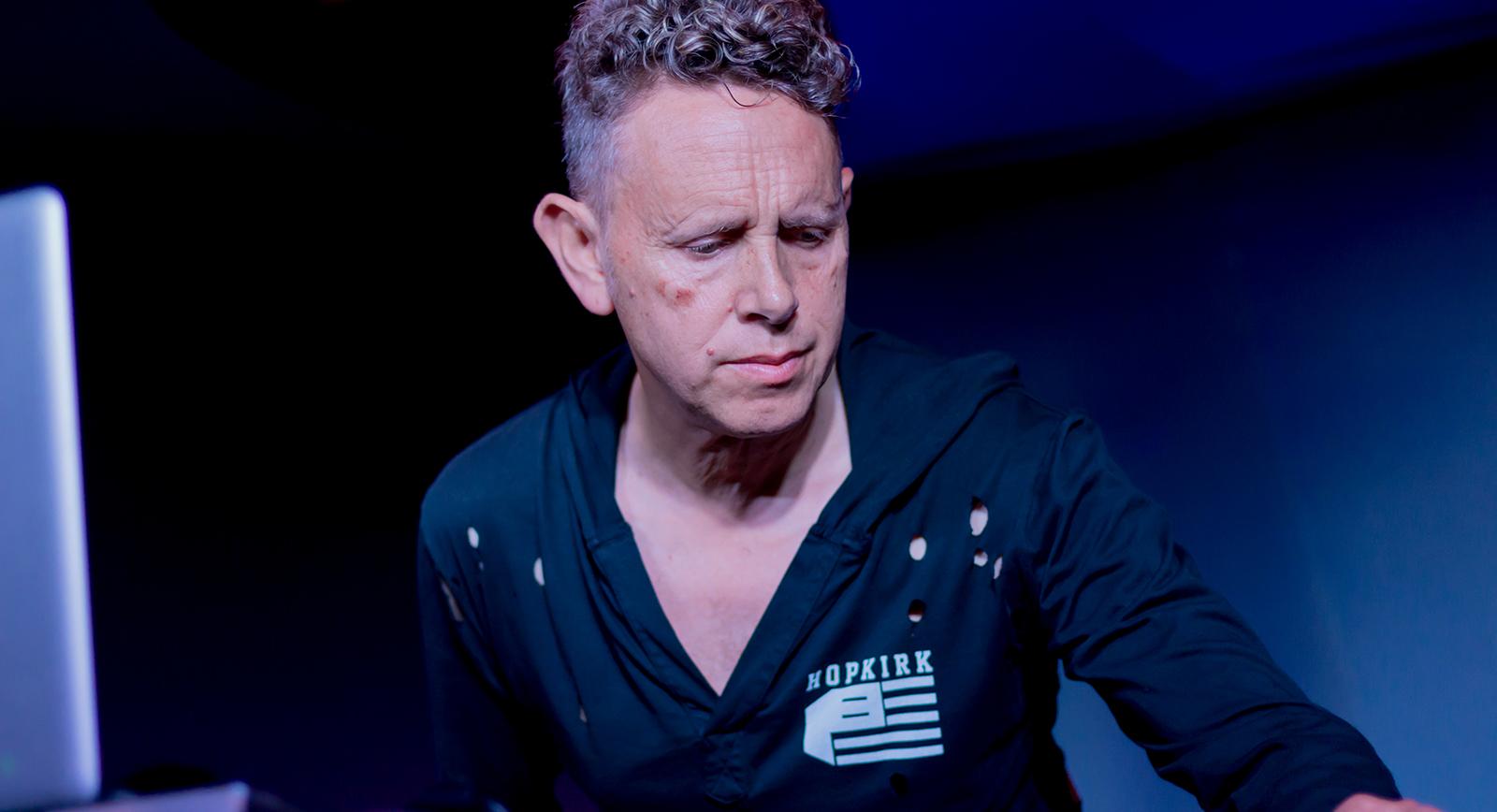 Martin Gore Of Depeche Mode Dj Set At Soho Restaurant Amp Music Club Santa Barbara California