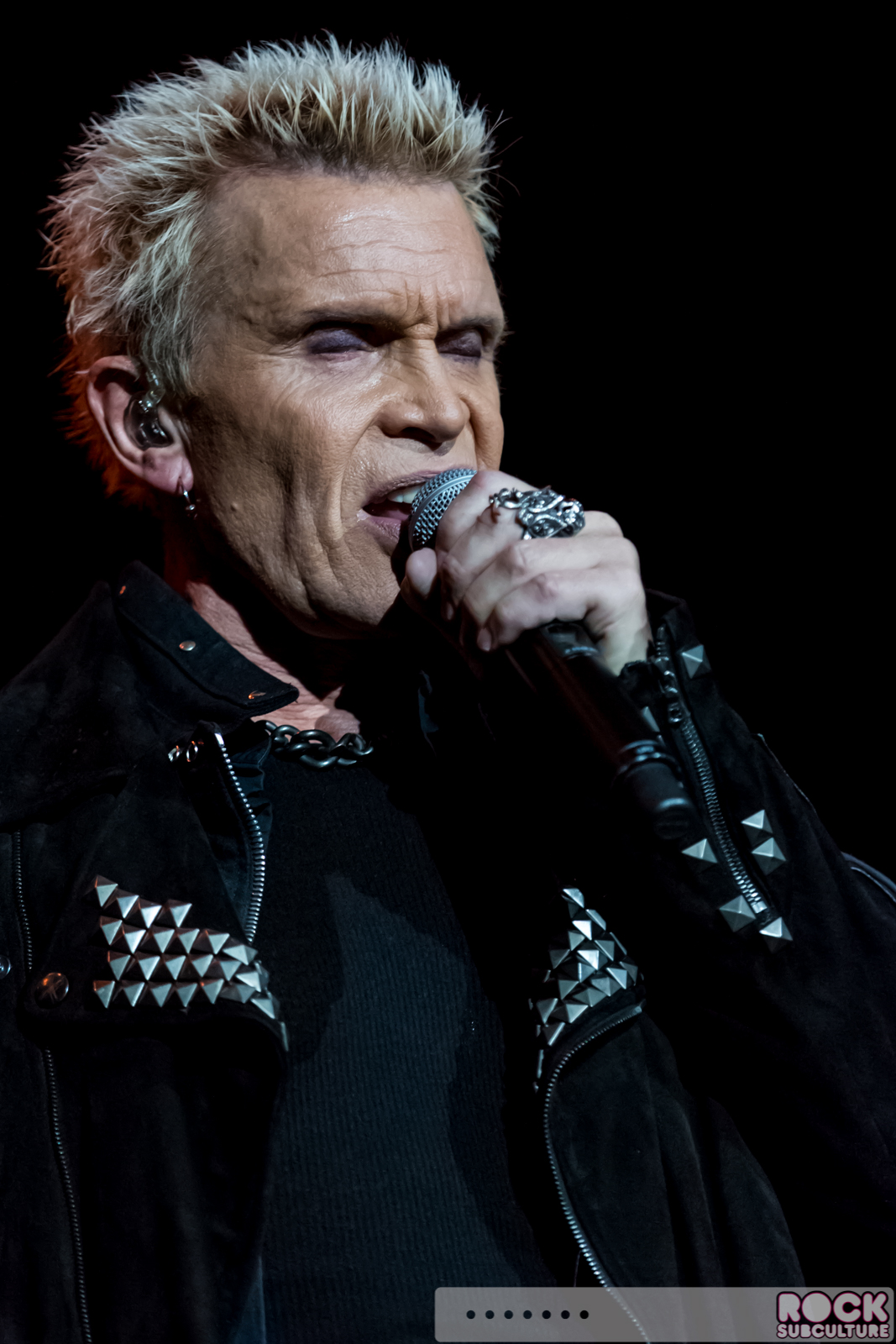 Billy Idol at The Grand Theatre at Grand Sierra Resort ...