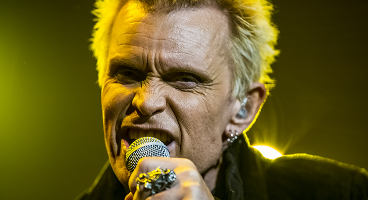 Billy Idol at The Grand Theatre at Grand Sierra Resort | Reno, Nevada | 8/7/2015 (Concert Review + Photos)
