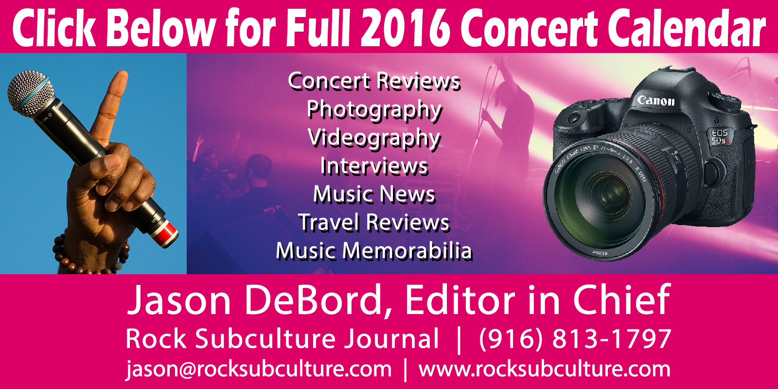 Rock-Subculture-Journal-2016-Concert-Calendar-Schedule-List