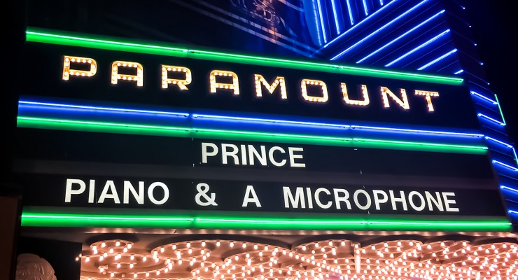 """Prince: Piano and a Microphone"" at Paramount Theatre 