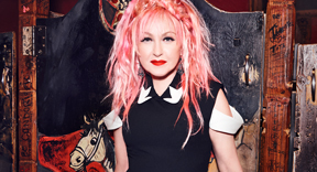 "Cyndi Lauper Takes ""Detour"" On The Road With Live Concerts"