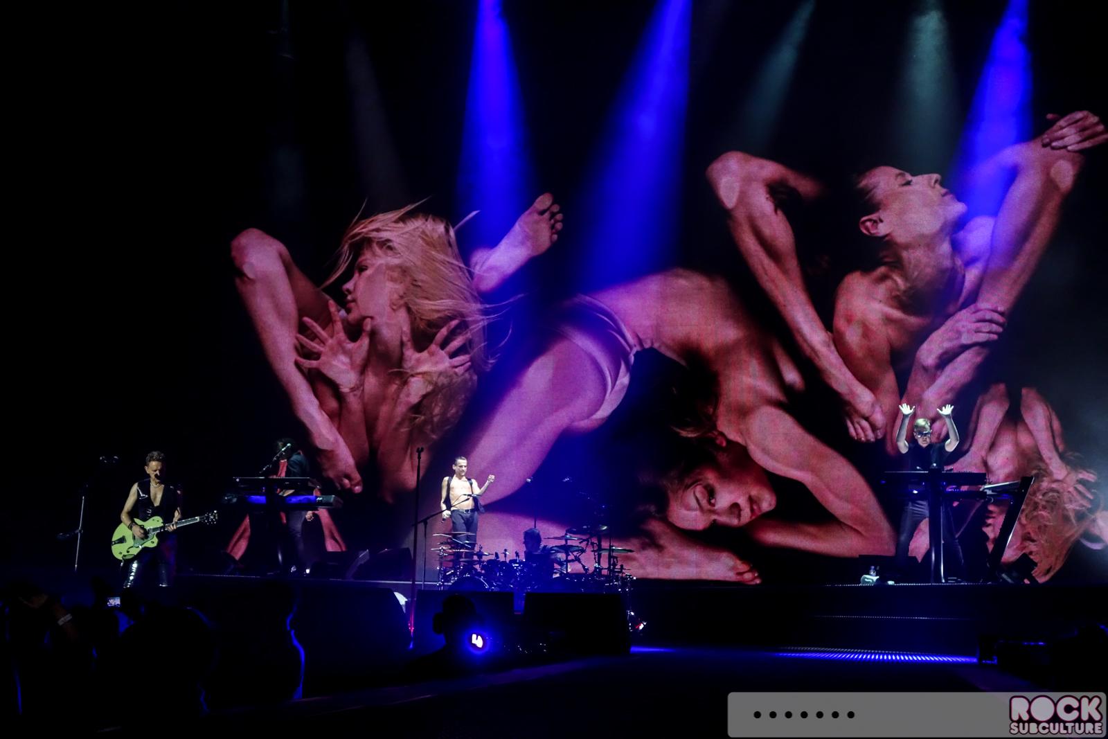 Depeche Mode Delta Machine Tour European Leg At The O2 Arena London London England 5 29