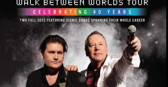 Simple Minds: Walk Between Worlds Tour In North America Underway (September, October and November)
