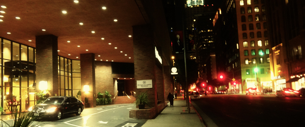 Hotel Resort Review Sheraton Los Angeles Downtown Hotel Los Angeles California