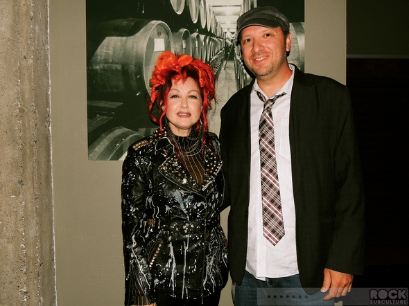 Cyndi-Lauper-Shes-So-Unusual-30th-Anniversary-Tour-2013-Concert-Review-Photos-Mountain-Winery-Saratoga-June-19-Jason-DeBord-Meet-and-Greet-RSJ