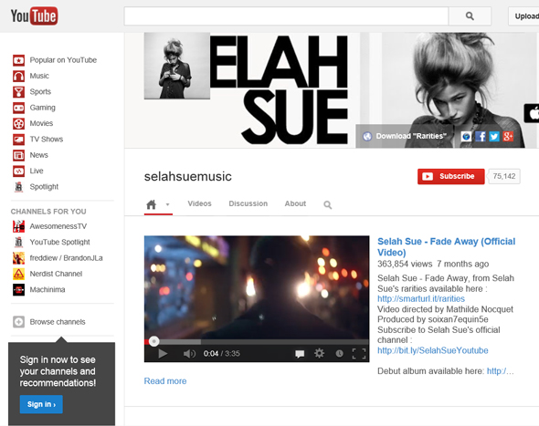 Selah-Sue-Concert-Tour-2013-North-America-US-The-Independent-San-Francisco-Ticket-Contest-Giveaway-YouTube