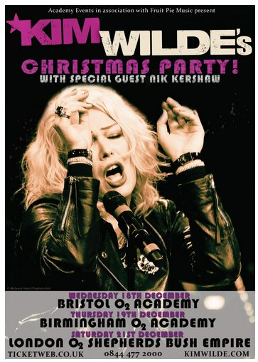 Kim-Wilde-Christmas-Party-Concert-December-2013-UK-London-O2 Academy Shepherds Bush Empire Dates-Tickets-Portal
