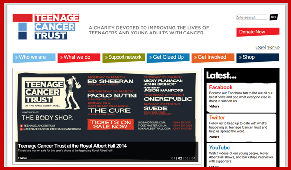 Teenage-Cancer-Trust-2014-Concert-Series-The-Cure-Royal-Albert-Hall-Suede-OneRepublic-March-London-Tickets-Details-Portal