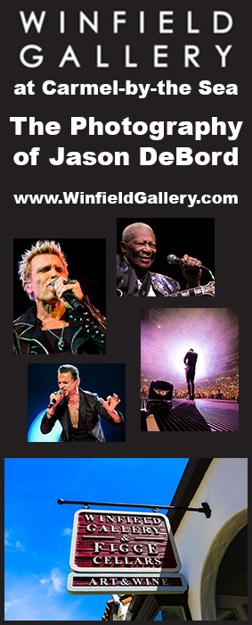 Winfield Museum Carmel by the Sea Photography of Jason DeBord Concert Photos Prints Art