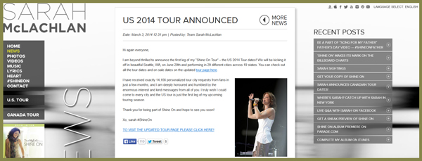 Sarah-McLachlan-2014-World-US-North-America-Tour-Concert-Announcements-Schedule-Dates-Music-Tickets-Pre-Sale-Codes-Cities-Portal