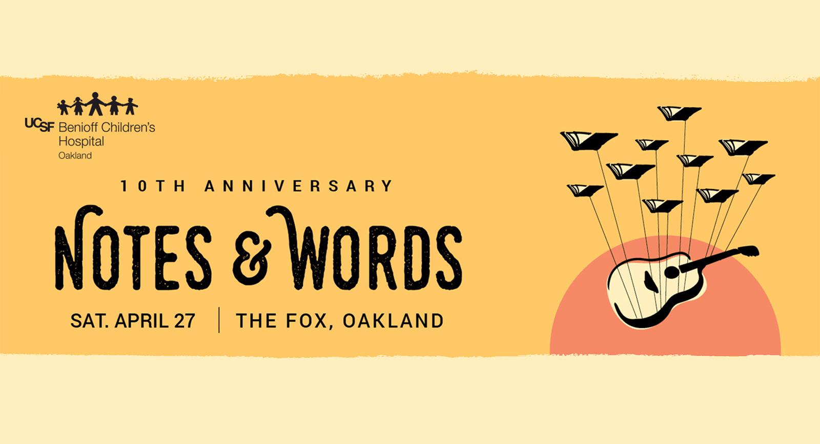 Ryan Tedder to Headline Notes & Words 10th Anniversary
